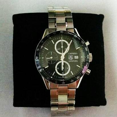 メルカリ タグホイヤー カレラ cv2010 腕時計 アナログ 223 000
