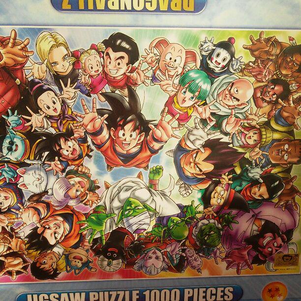 Dragon Ball Jigsaw Puzzles 1000 Piece