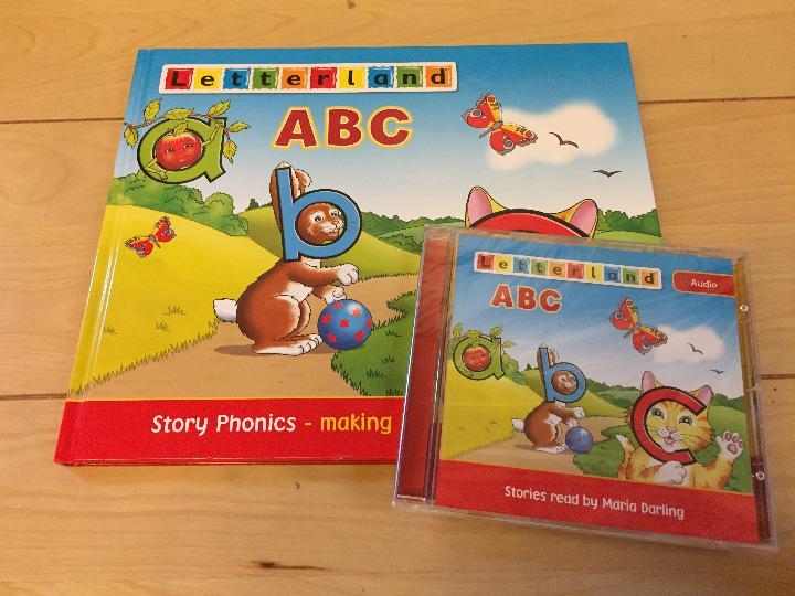 メルカリ 英語教材 letterland abc 本とcdセット songs の cd