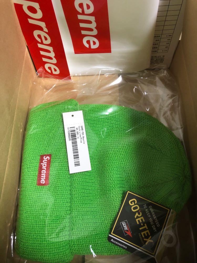 メルカリ - Supreme GORE-TEX Beanie lime  ニットキャップ ビーニー ... 50c57c222137