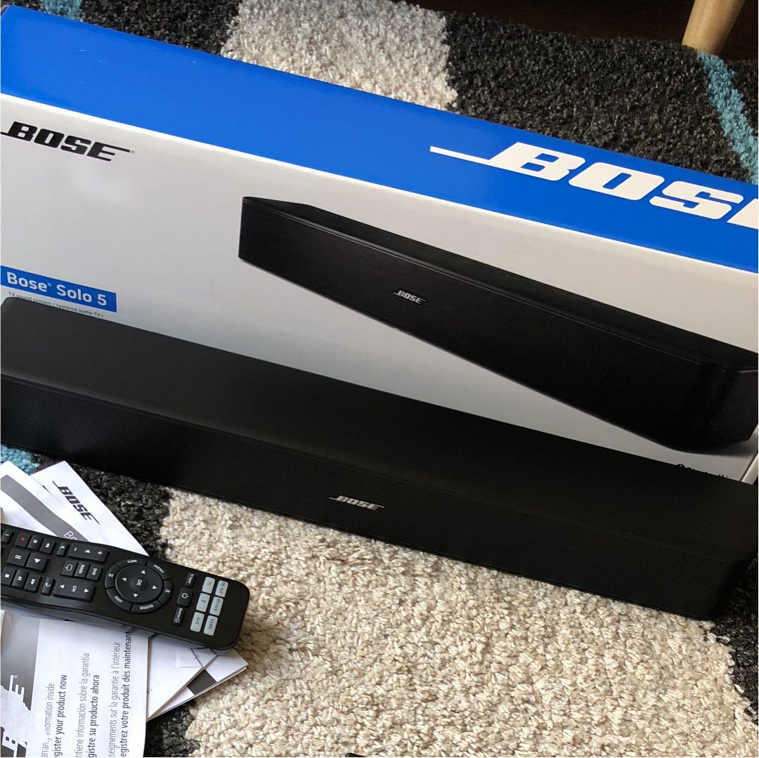 Bose Solo5 Tv Sound System 25000 Solo 5
