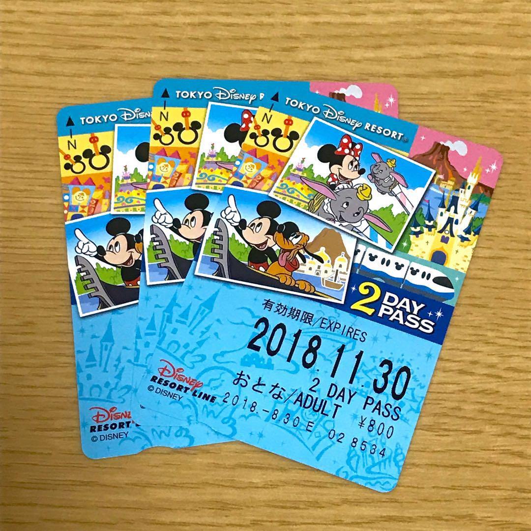 メルカリ - 【未使用】ディズニーリゾートライン 2day 【遊園地/テーマ