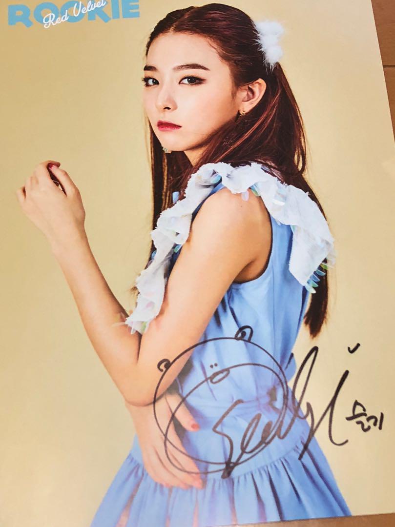 Seulgi signed