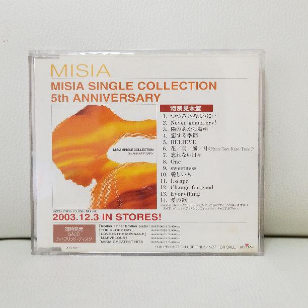Images of MISIA SINGLE COLLECTION 5th ANNIVERSARY - JapaneseClass jp