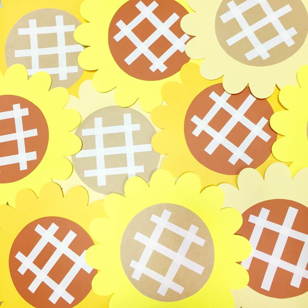 メルカリ - 【ハンドメイド】 かわいい♡ひまわりの壁面飾り 10個セット
