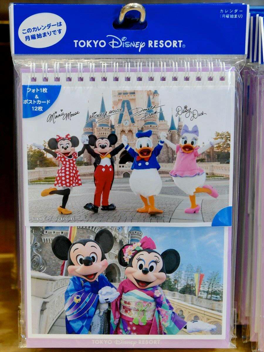 メルカリ - 新商品♥ミッキー 実写 2019 卓上 カレンダー ディズニー