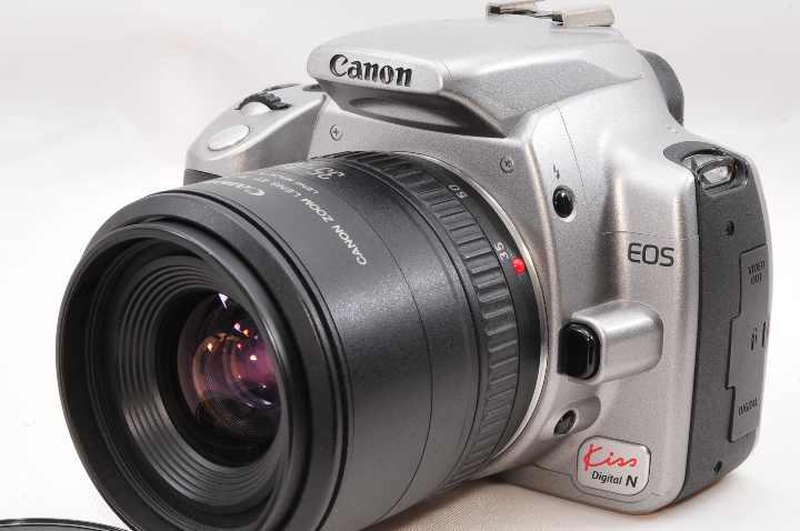 メルカリ 一眼レフ入門canon Eos Kiss Digital N デジタルカメラ