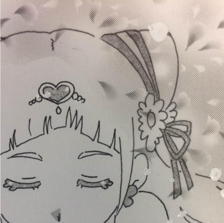 メルカリ プリキュア 白黒 キュアエール ハンドメイド 450 中古