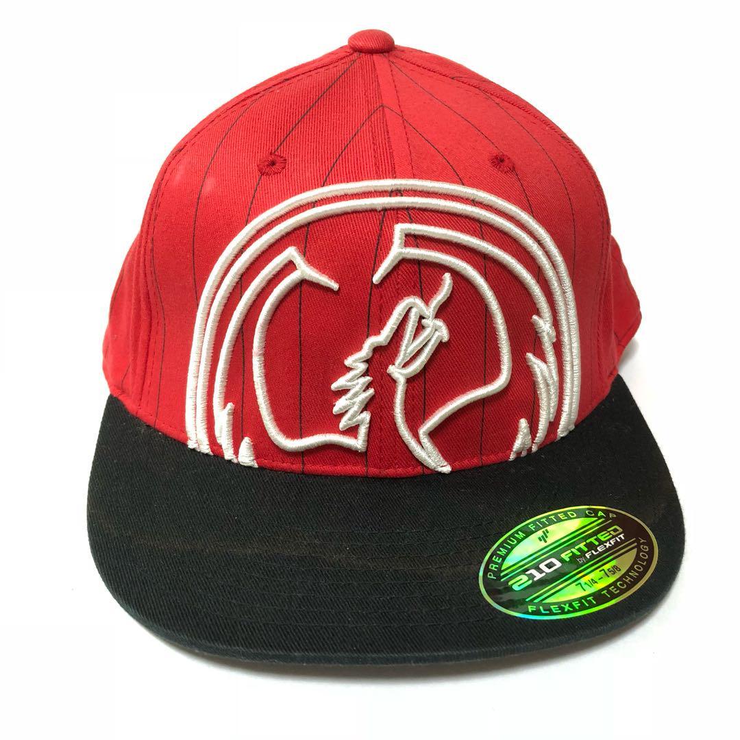 メルカリ 210 fitted 7 1 4 7 5 8 ドラゴン キャップ 帽子