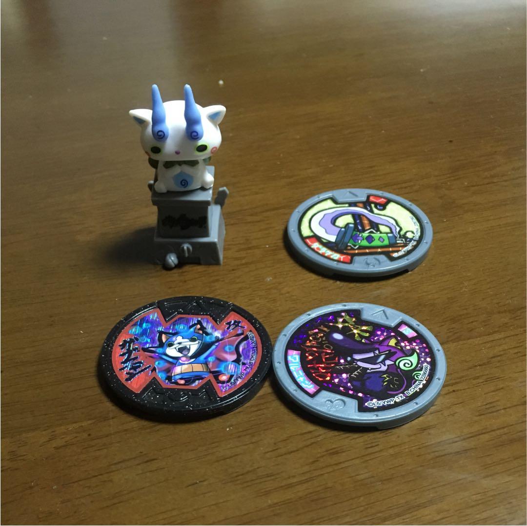 メルカリ 妖怪メダル コマさんイヤホンジャック キャラクターグッズ