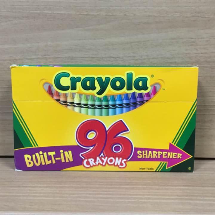 メルカリ クレオラ クレヨン crayola 96色 画材 900 中古や未