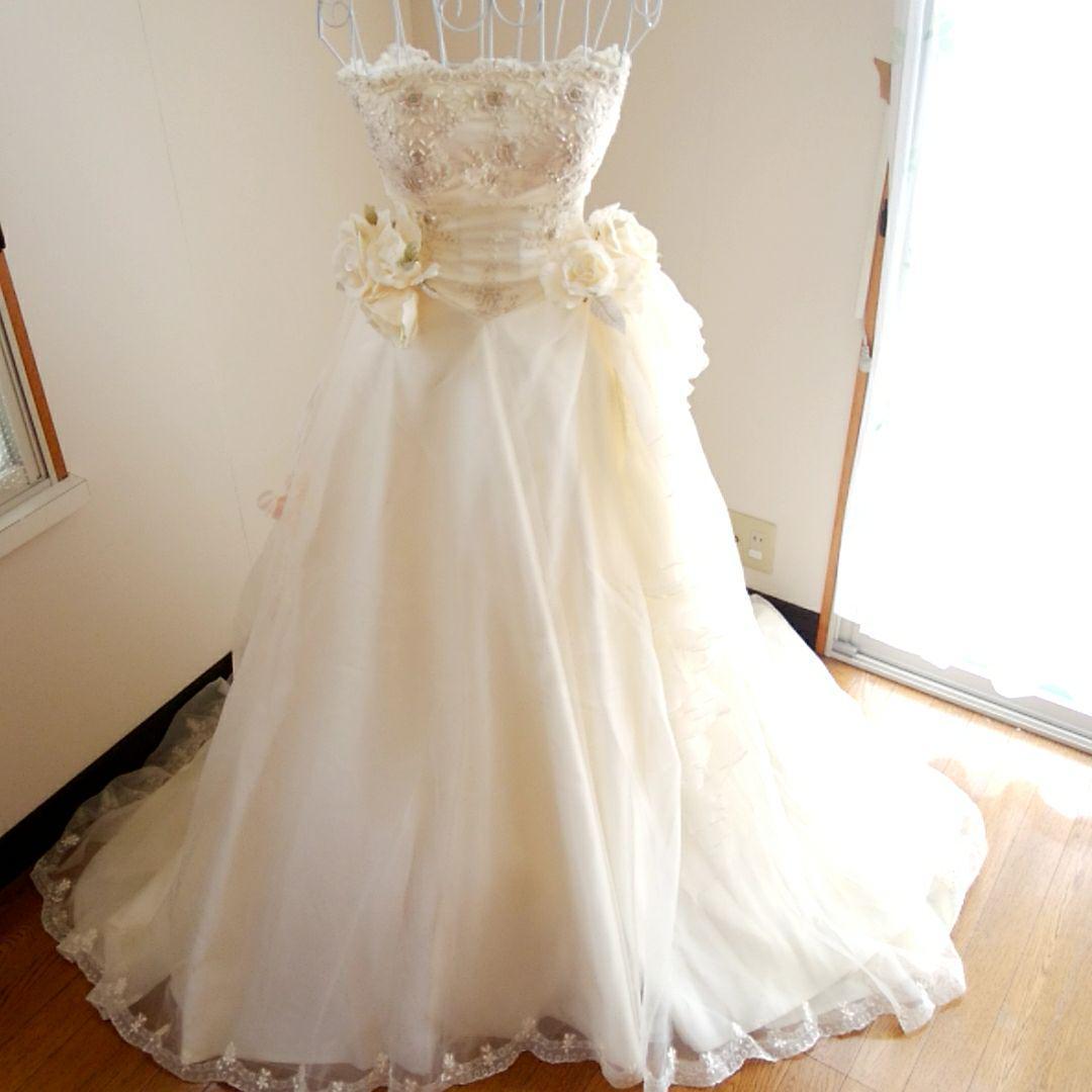 d2df5a71f6b6c メルカリ - エメ Aimer ウェディングドレス ウエディングドレス (¥25
