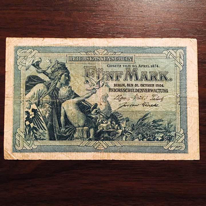 メルカリ - ドイツの旧紙幣 世界...
