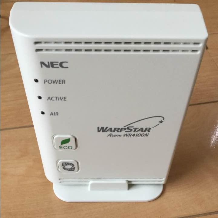DRIVERS: NEC ATERM WR4100N ROUTER