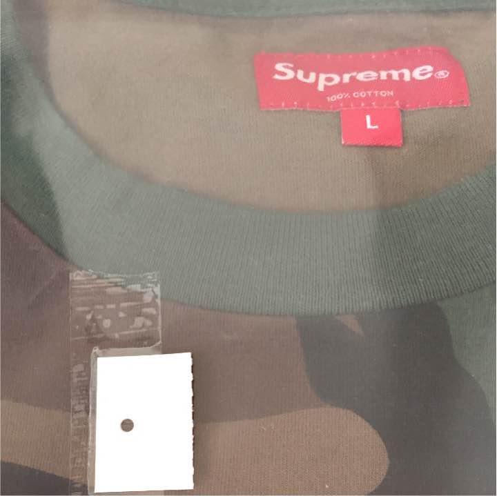 メルカリ supreme athletic label シュプリーム l カモ 2018 tシャツ