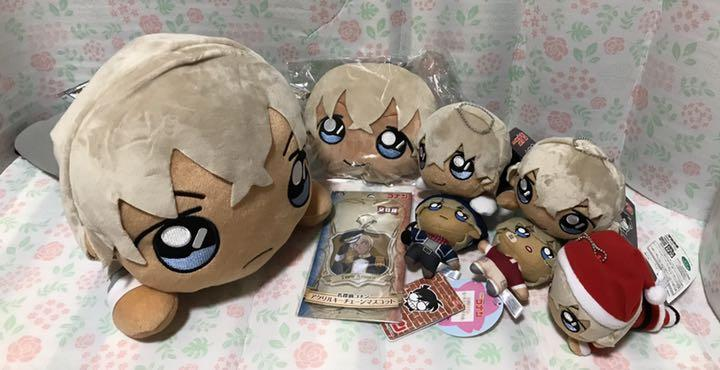 Name Detective Conan Prize Anpany Transparent Toy Mascot Akki Pass Case