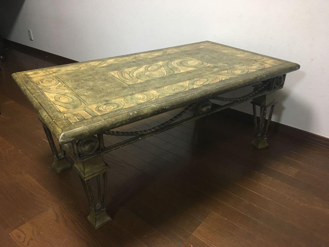 メルカリ - アンティーク テーブル 【センターテーブル】 (¥35,000) 中古