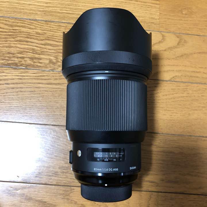 メルカリ シグマ 85mm f1 4 art ニコン用 usb dock 保護フィルター