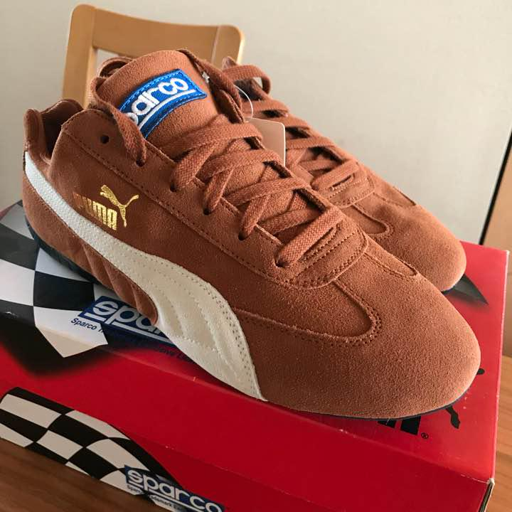 Image is loading Men-10Us-Puma-Sparco-Collaboration-Driving-Shoes-Sneakers 1d3d53248