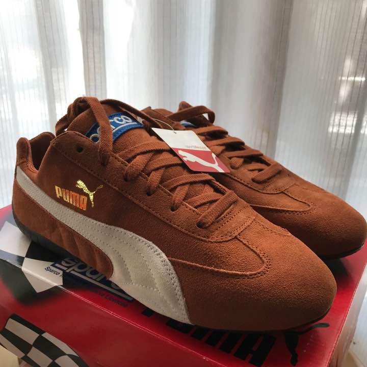 Men 10Us Puma Sparco Collaboration Driving Shoes Sneakers  372d0ae7f
