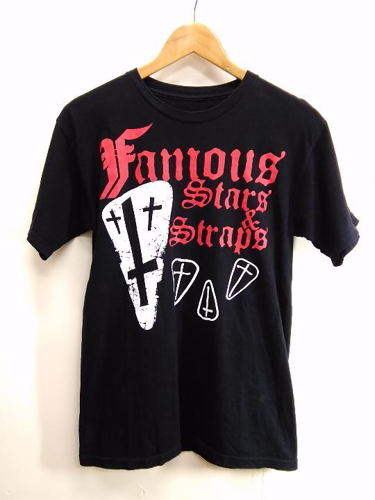 メルカリ usa古着 famous stars straps tシャツ sサイズ t