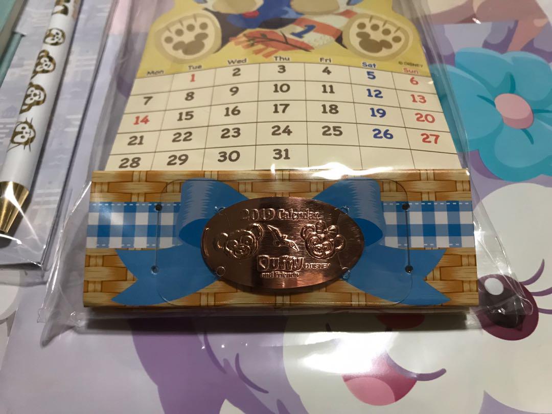 メルカリ - ディズニーシー公式 ダッフィースケジュール帳&カレンダー