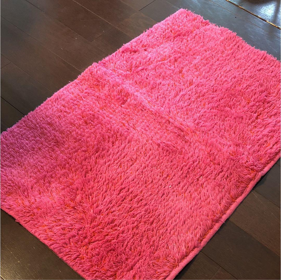 メルカリ - フランフラン ラグ ピンク 【フランフラン】 (¥1,750) 中古や