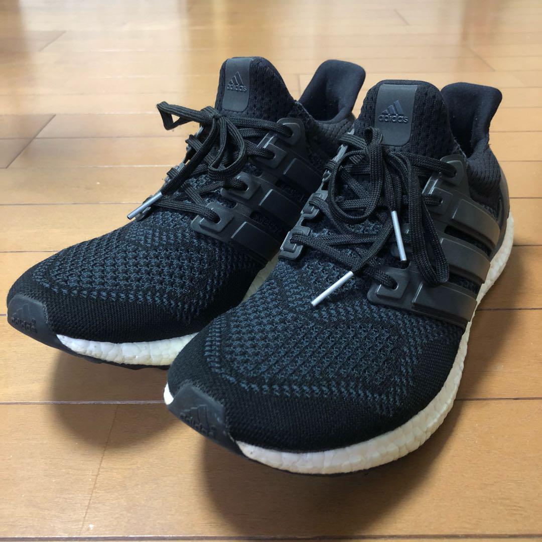 メルカリ adidas ultra boost 1 0 core black us11 スニーカー