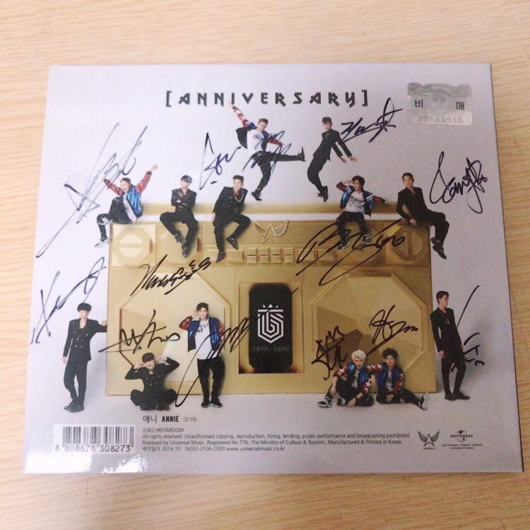 Signed album