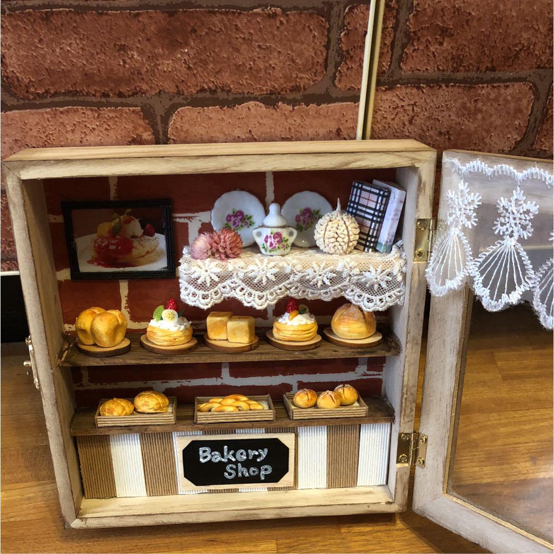メルカリ bakery shop 置物 2 500 中古や未使用のフリマ