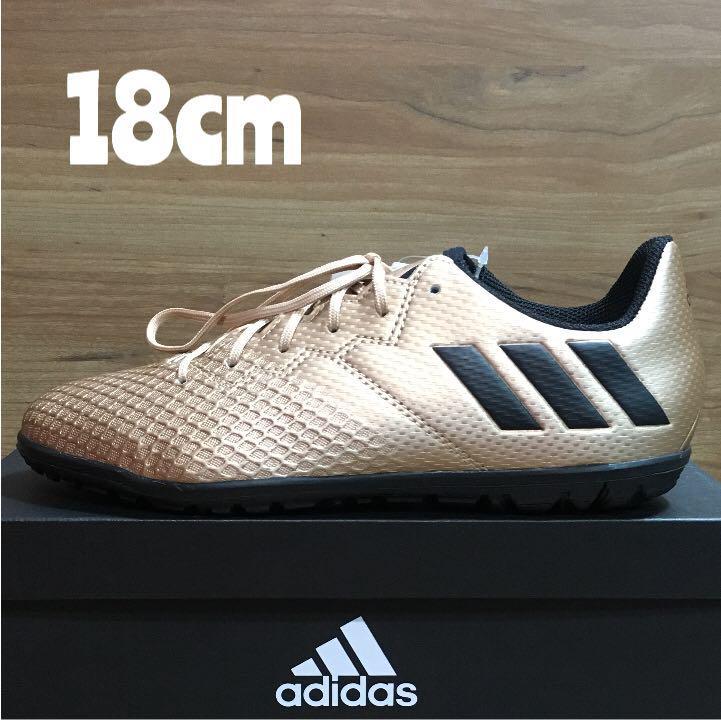 メルカリ 18cm adidas messi 16 3 tf 通園 スニーカー 子供靴