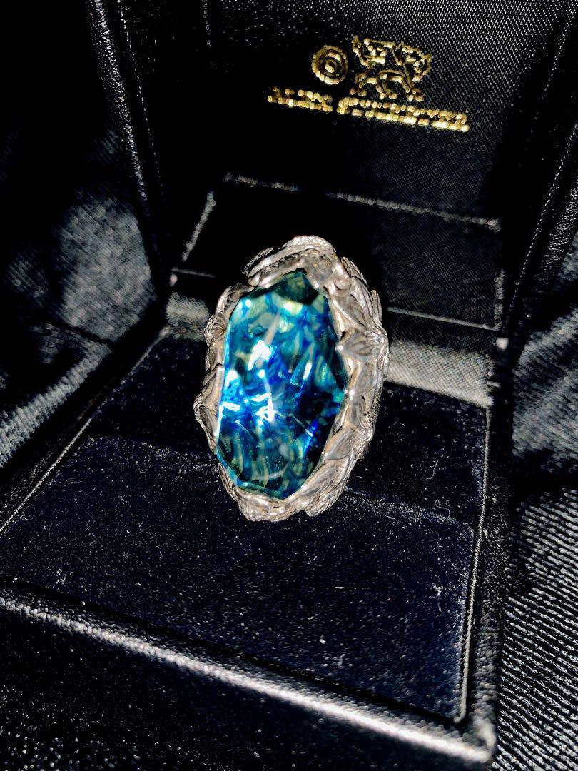 メルカリ lyly erlandsson the winter ice blue 13号 リング