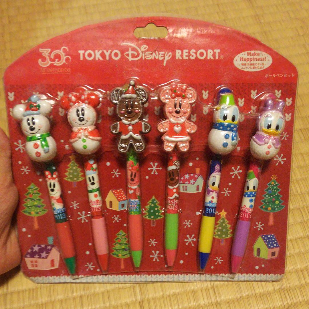 メルカリ - ディズニーリゾート 30周年クリスマス ボールペン6本セット