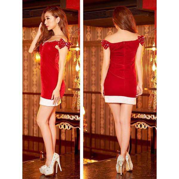 605c2fc6aaf37 ドレス サンタ
