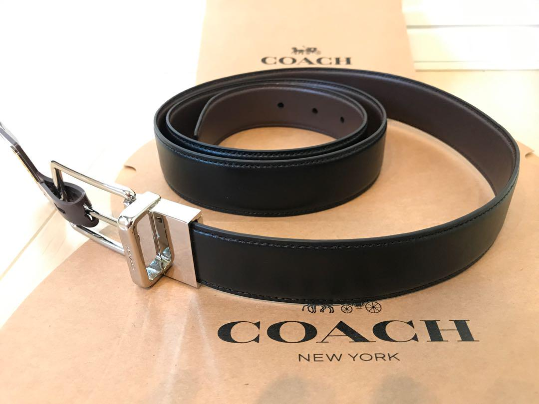 d7c2e51607c6 メルカリ - 新品 コーチ アウトレット COACH メンズ ベルト 【コーチ ...