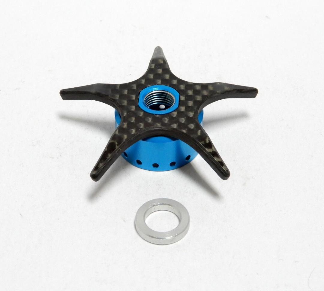Used Ktf Ixa Carbon Star Drag Light Blau Left Handle
