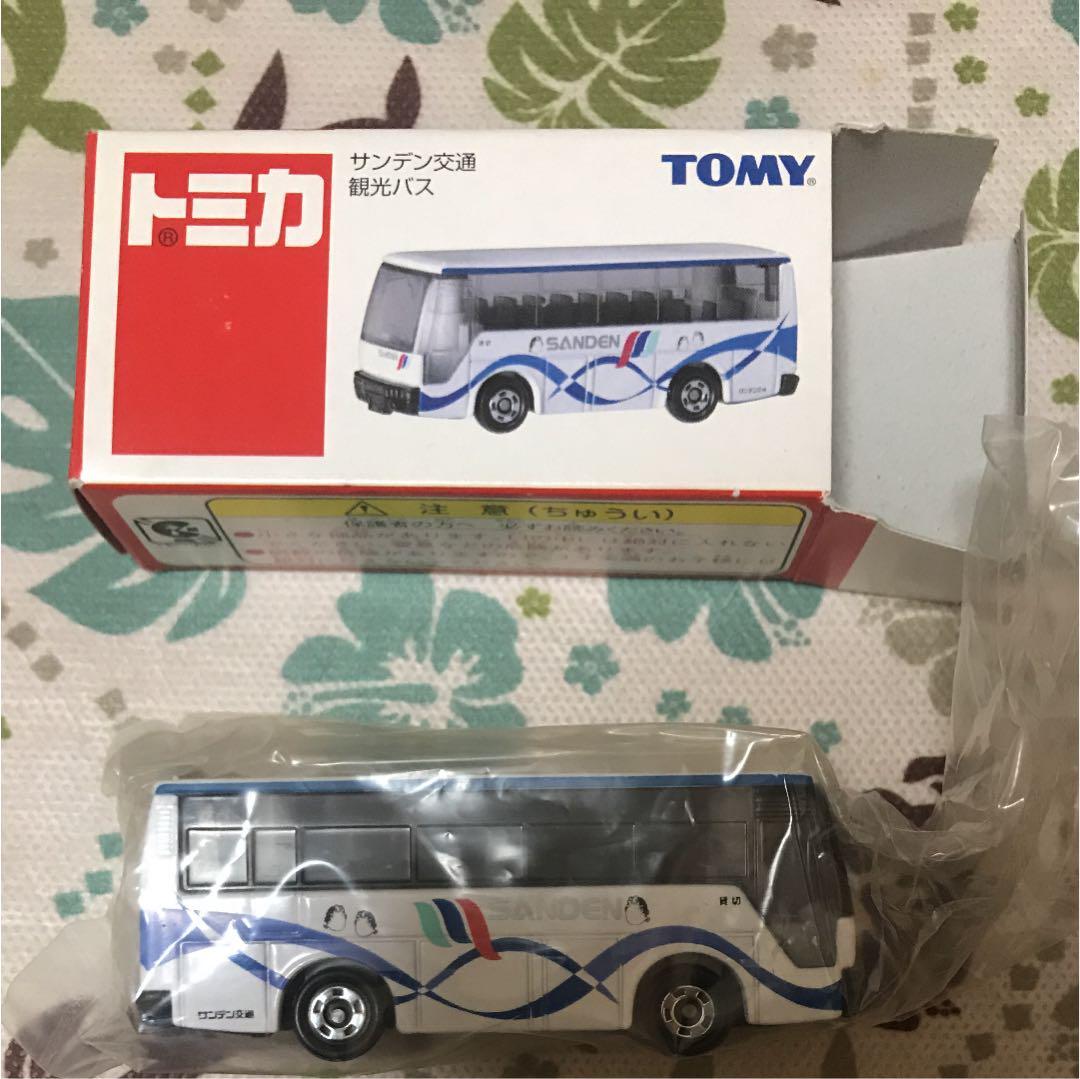 メルカリ - 《価格見直 》トミカ サンデン交通 観光バス 新品 レア物