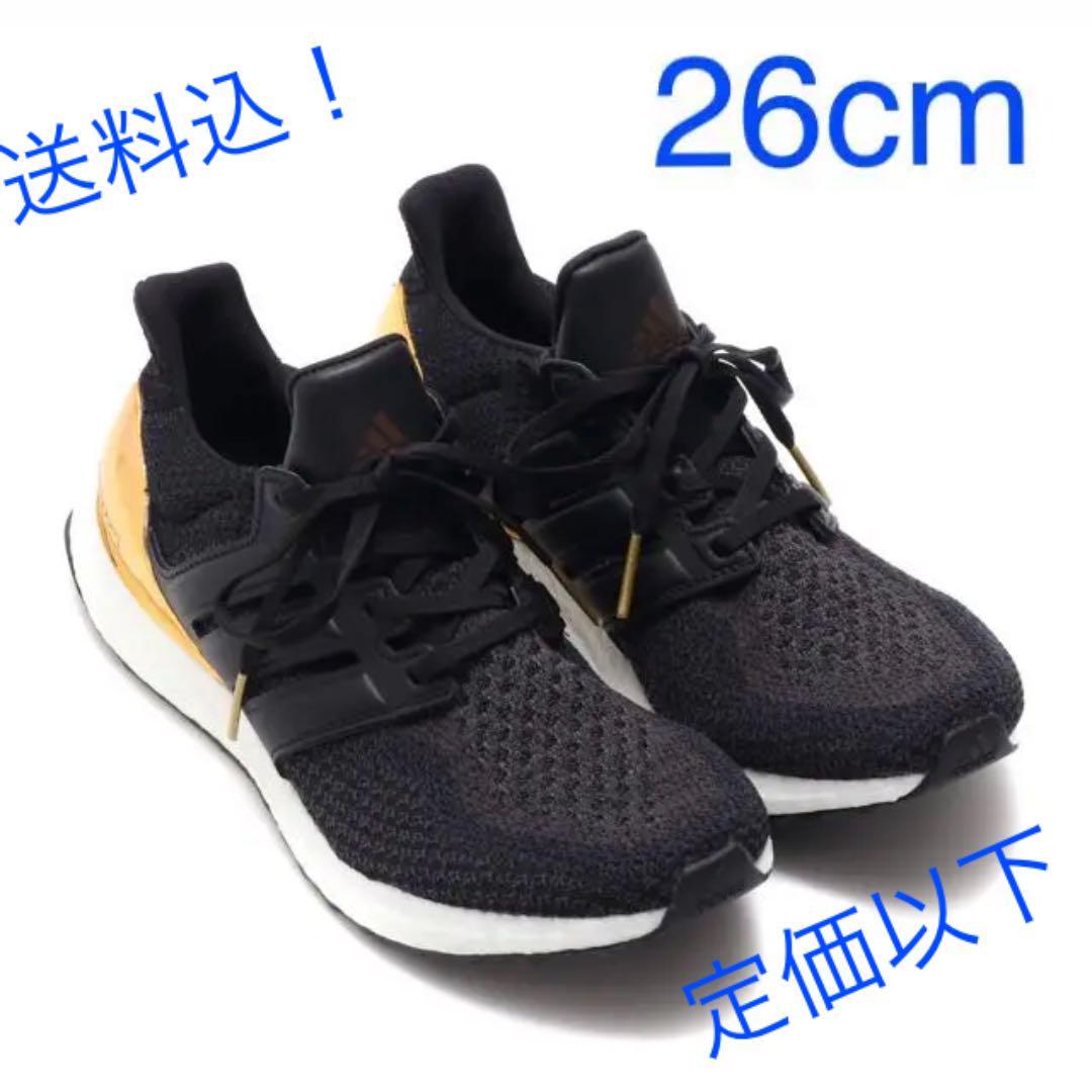 e68480cc9ca メルカリ - adidas ultra boost Ltd Celeb.BLACK GOLD  スニーカー ...