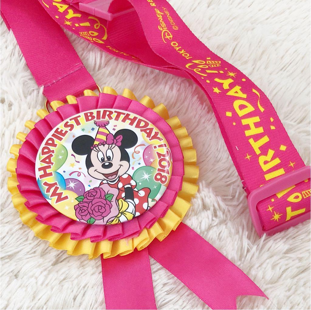 メルカリ - ディズニー 公式 ミニーマウス バースデー ロゼット