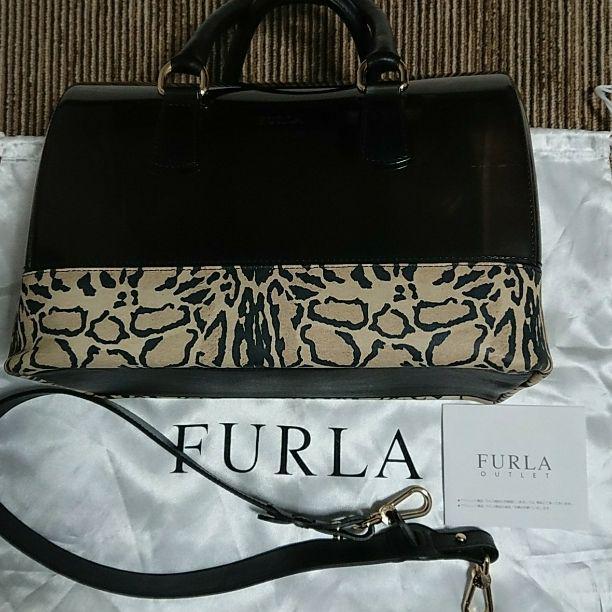 e75d87539e4a メルカリ - 【購入証明書あり】FURLA フルラ キャンディバッグ ...