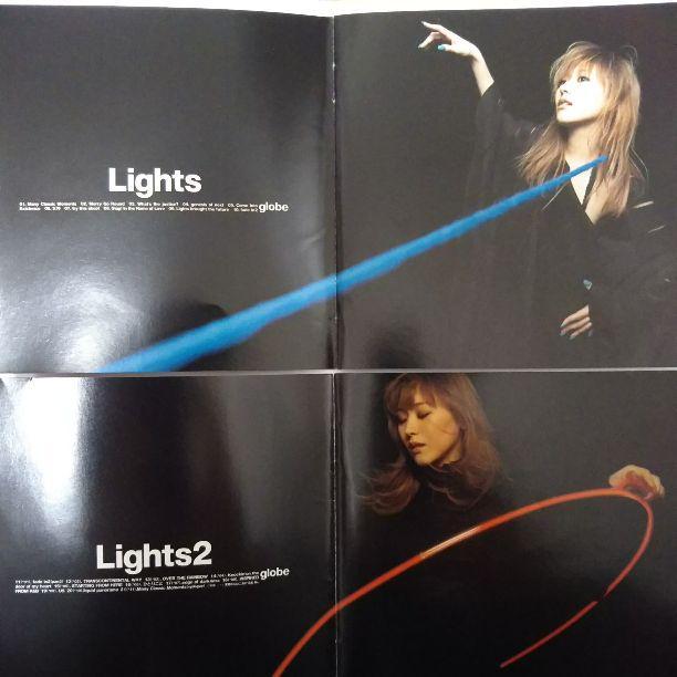メルカリ globe lights lights2 2枚セット 初回限定ケース付き 邦楽