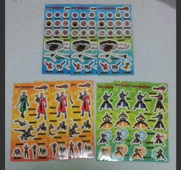 メルカリ 非売品のシールセット 仮面ライダー ウィザード クレヨン