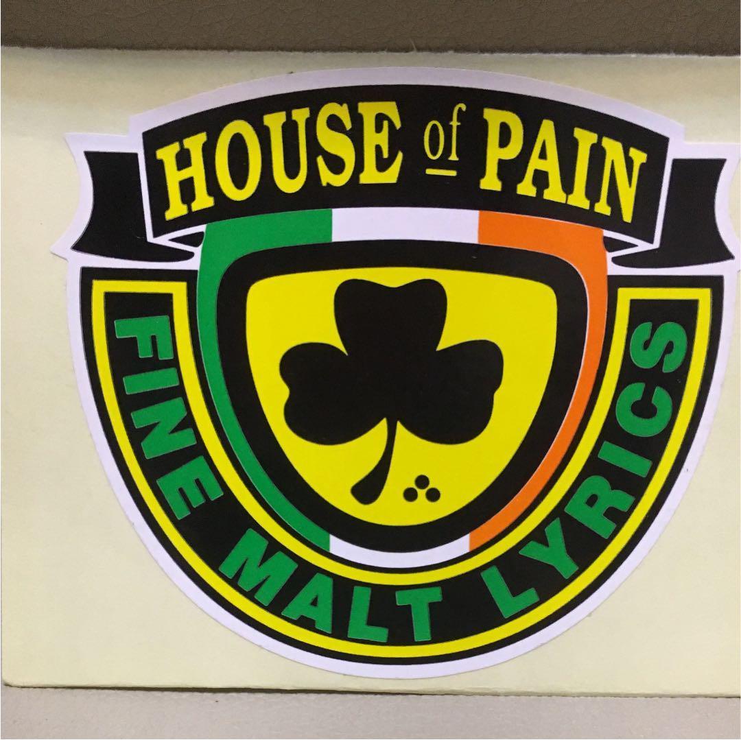 メルカリ レア ハウスオブペイン ステッカー house of pain