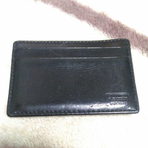 09b04bf21ac3 メルカリ - COACH(コーチ) メンズ カードケース&マネークリップ ...