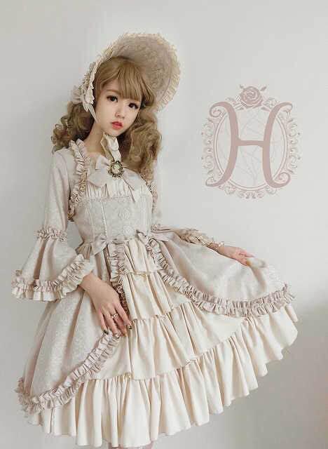 メルカリ 海外ブランド Henrietta 豪華なドレス クラシカル ロリィタ