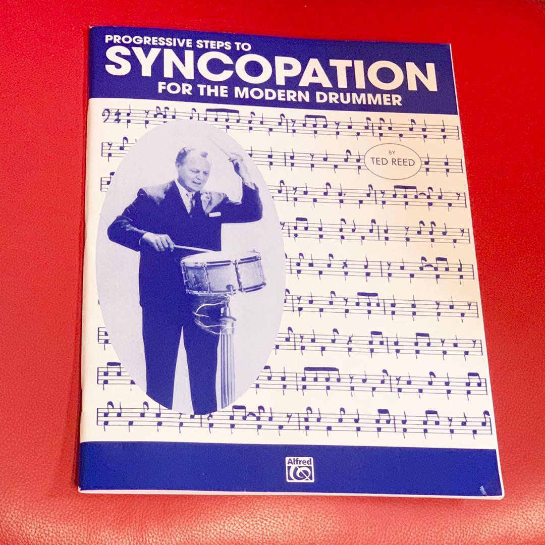 メルカリ progressive steps to syncopation ドラム 教則本 楽譜