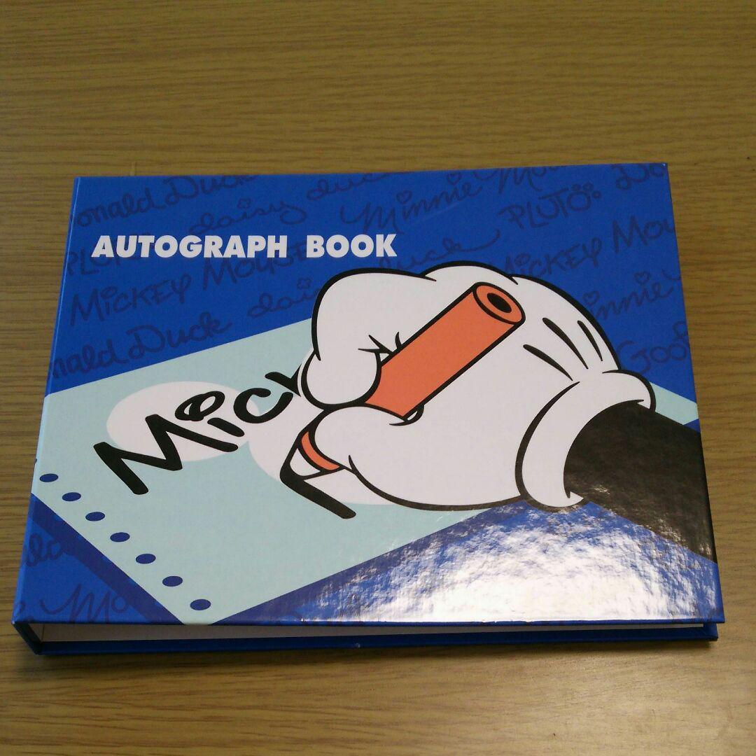 メルカリ ディズニーリゾート autograph book キャラクターグッズ