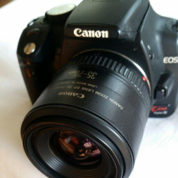 メルカリ Canon Eos Kiss Digital N 一眼レフデジタルカメラ 難あり