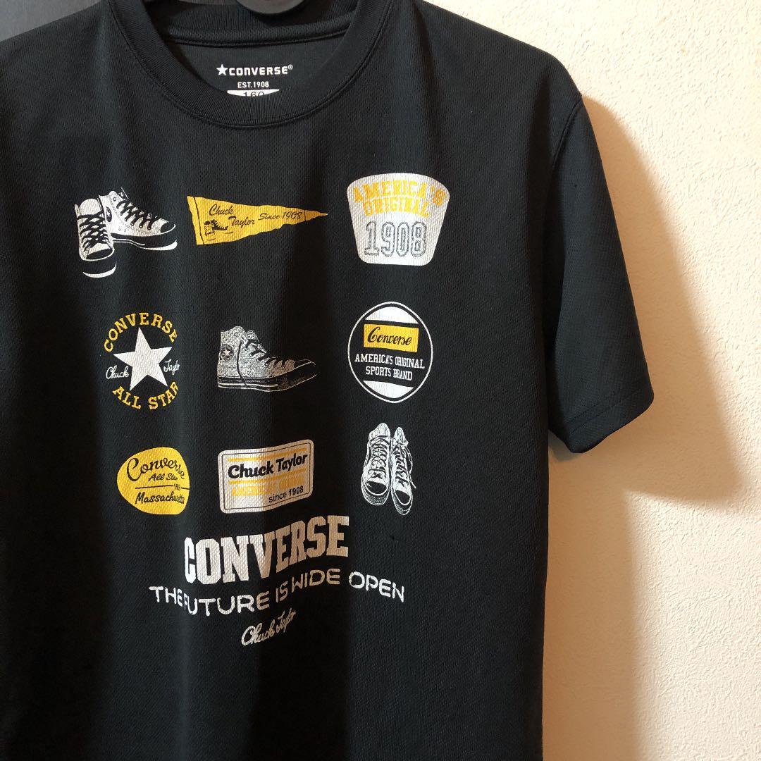264b3f2b57781 メルカリ - converse コンバース Tシャツ 160cm  トップス(Tシャツ ...