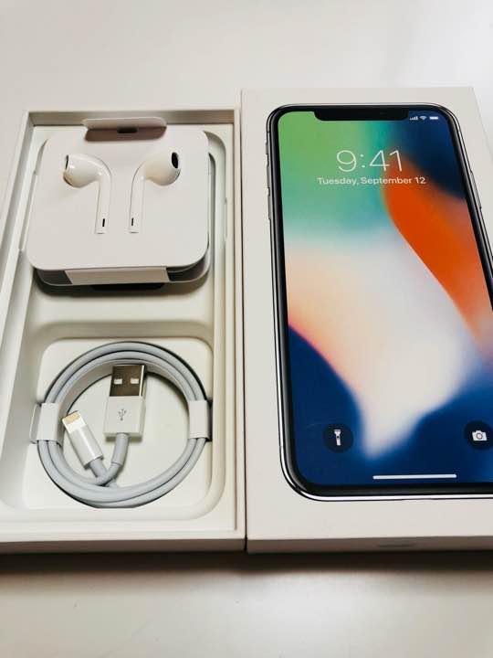 iPhone X イヤホン 充電ケーブル